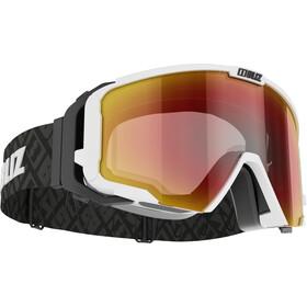 Bliz Switch Nano Optics Gafas, matt white/brown-red multi